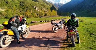 motorcycle rental and tours in Kyrgyzstan