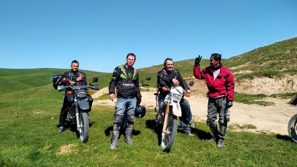 wild motorbike guided tours in Kyrgyzstan