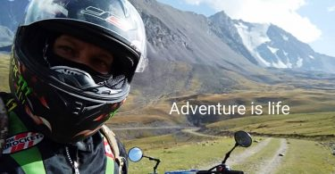 Travel Kyrgyzstan by motorcycle