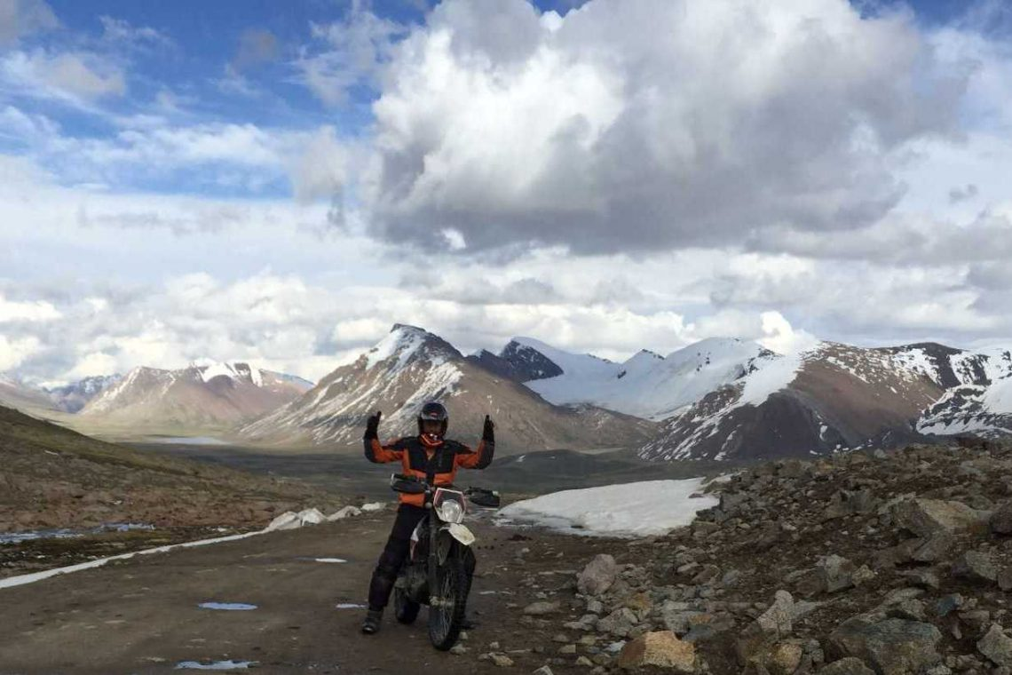 motorbike rent Kyrgyzstan