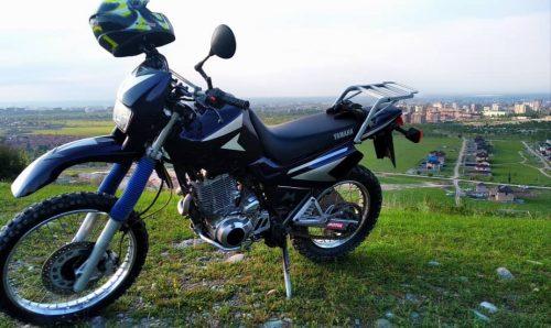 Motorbike rental in kyrgyzstan