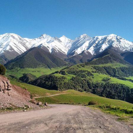 Chonkurchak Valley Kyrgyzstan