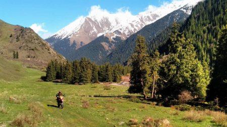 Shamshi gorge Kyrgyzstan