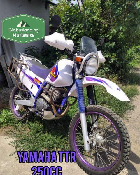 Yamaha TR-R 250cc Raid Purple